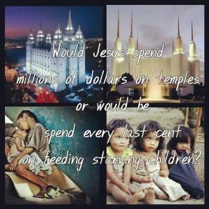 Jesus Spending Money