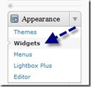 How to install html code in a widget