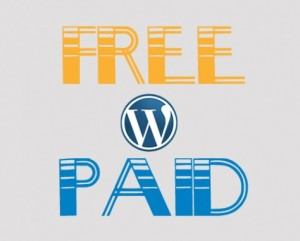 free vs paid WordPress platform