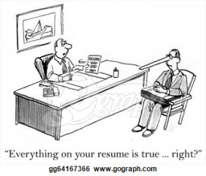 How To Be Truthful On Your Resume