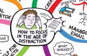 Age Of Information Is Age Of Distraction