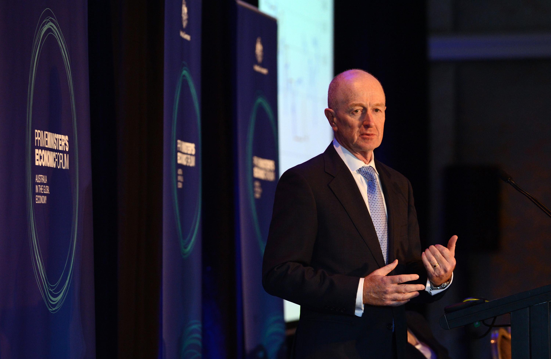 Australian Reserve Bank governor Glenn Stevens