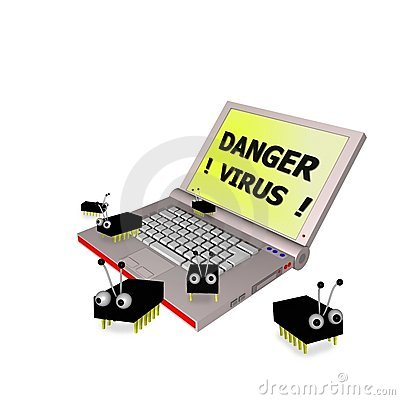Computer Virus Danger