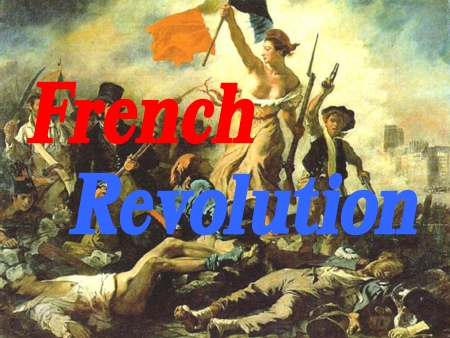 thesis statements for the french revolution Free essay on causes of the french revolution of 1789 available totally free at echeatcom as these statements suggest, french history did no.