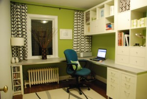 5 Affordable  Home Office Makeover Ideas