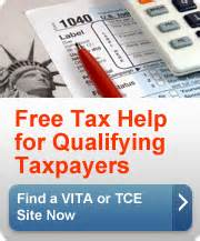 Free Tax Return Preparation for Qualifying Taxpayers