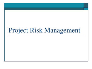10 Tips for a Full Risk Management Process