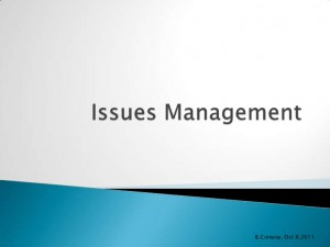 Use These 3 Steps to Issues Management