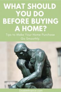 What Should You Do Before Buying a Home
