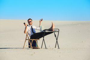 Cherish The Sunny Days: Outdoor Office Ideas