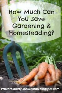 How Much Money You Can Save By Having a Garden